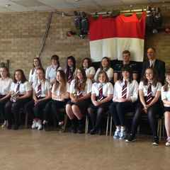 Frome RFC U15's Girls presentation