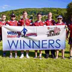 Frome RFC 7's win at West Country 7's Festial