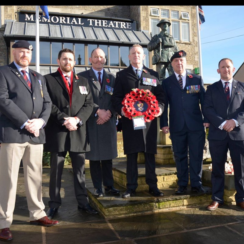 Frome RFC pays tribute on Remembrance Day