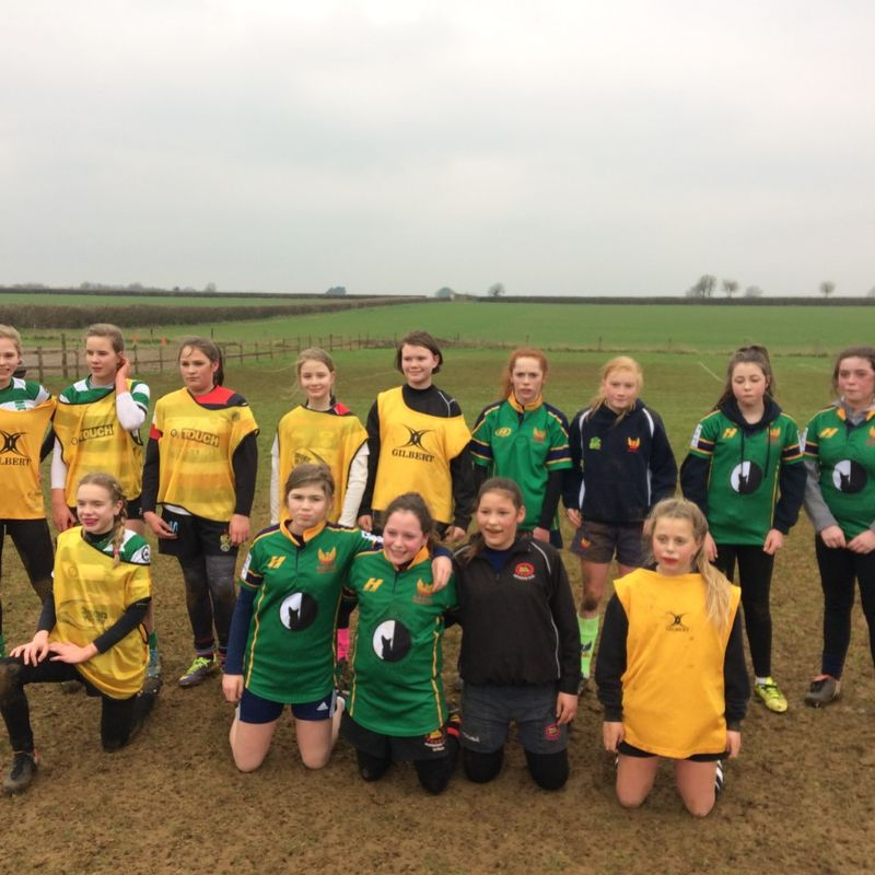 Frome RFC Girls in North Dorset Pitch up & Play