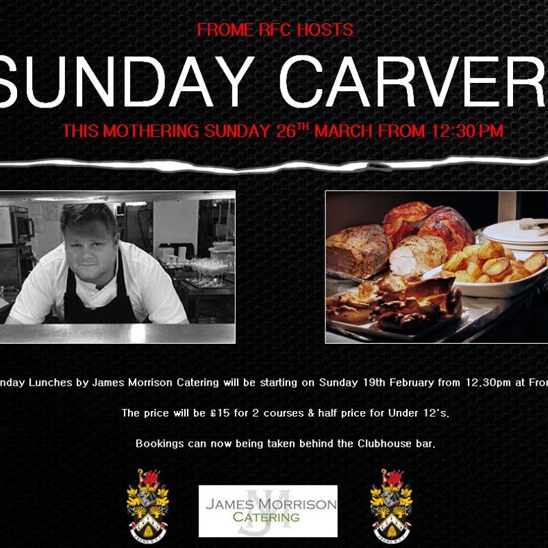 Sunday Carvery this Mothers Day