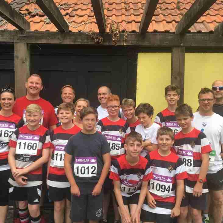 Frome Half Marathon, 10k & 5k