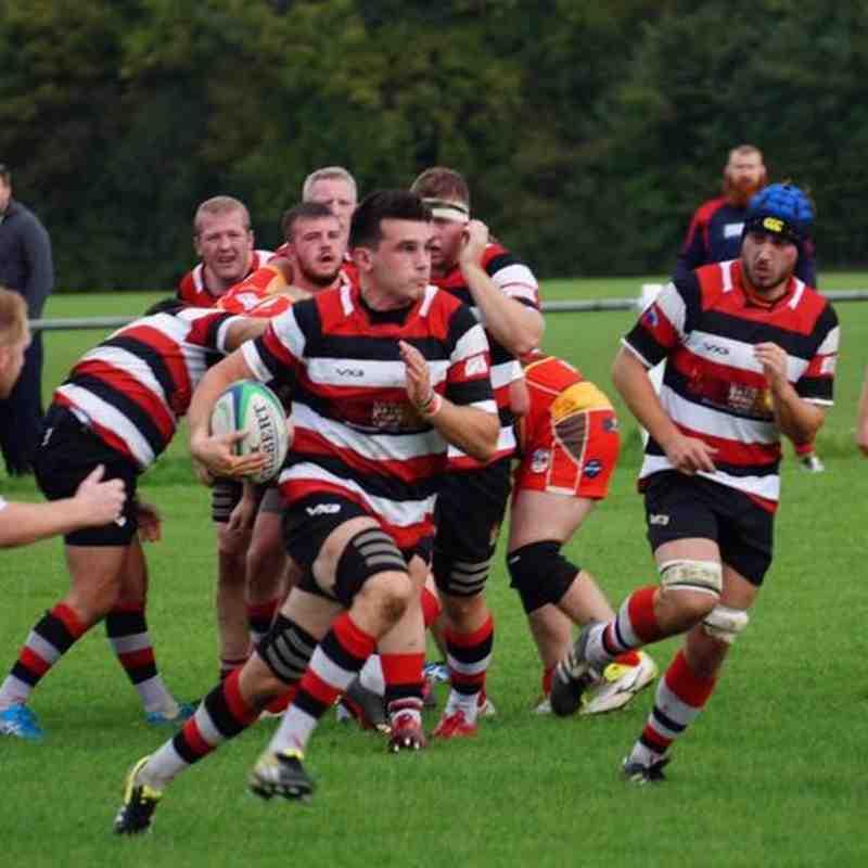 Frome RFC 1st v Blandford RFC
