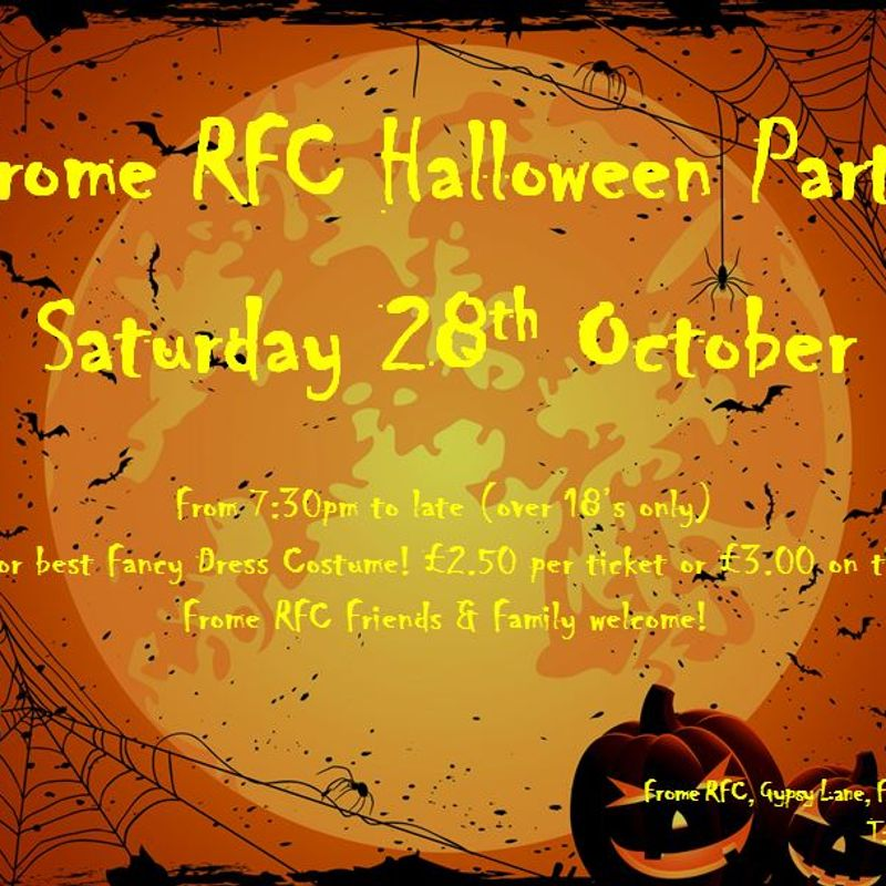 Halloween @ Frome RFC