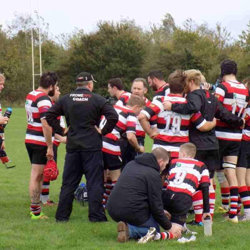 Frome RFC 2nd v Alfred's Nomads