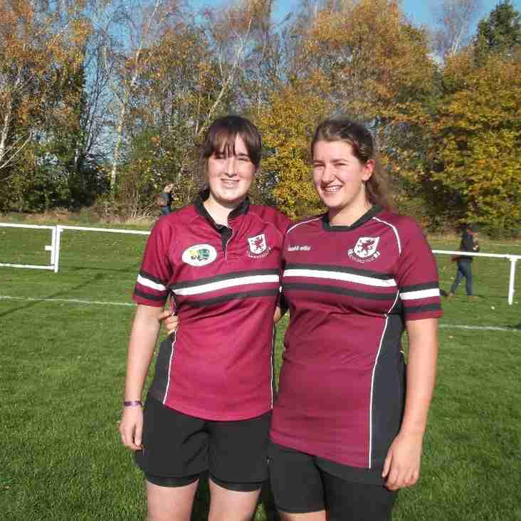 Frome Girls Lock Their Places in Somerset Rugby Teams