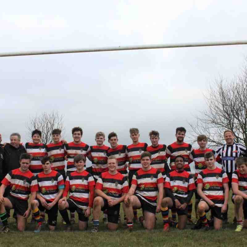 Frome RFC/Warminster RFC U26's v North Dorset RFC U16's