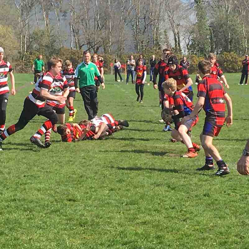 Frome RFC U13's at Bournemouth RFC Festival
