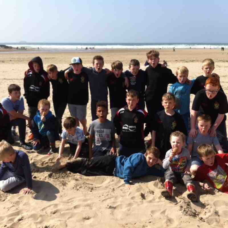 Frome RFC U10's Cornwall Tour