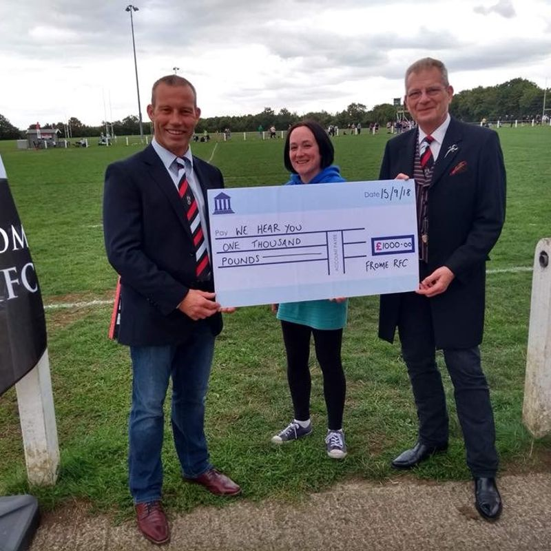 Frome RFC partners with We Hear You