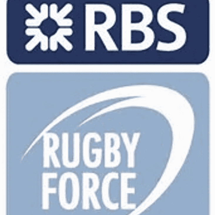 RBS Rugby Force Day - Sat 12th August