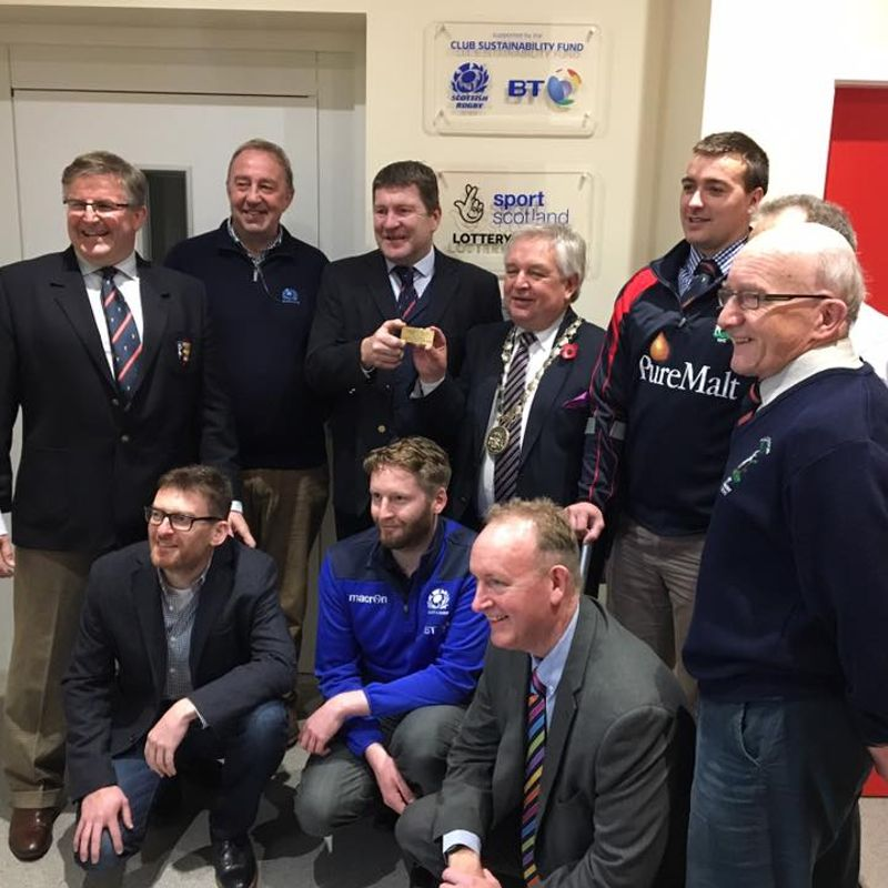 Haddington Rugby Club Opens Refurbished Clubhouse
