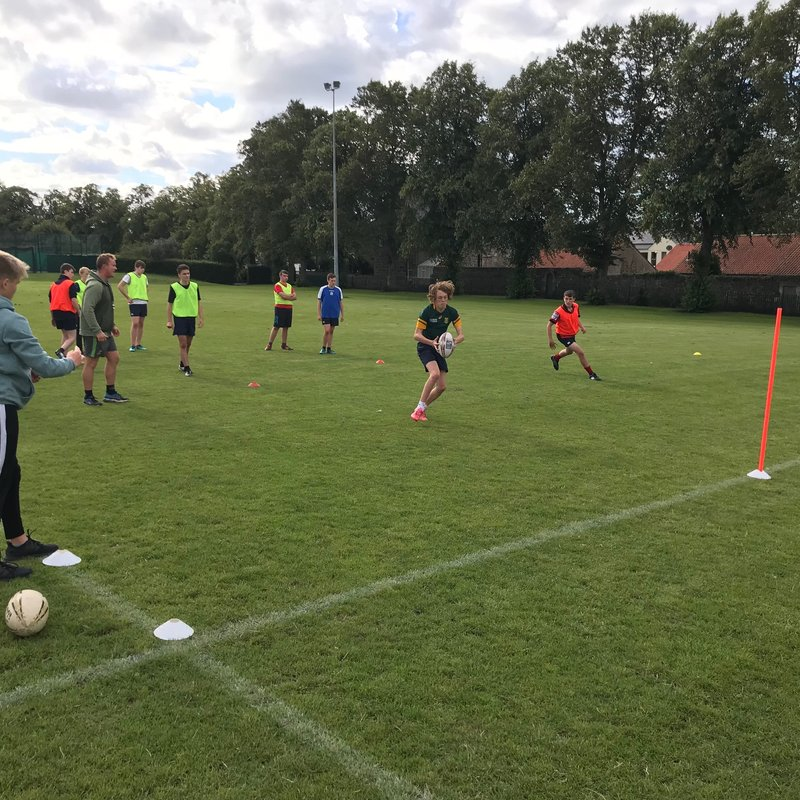 School of Rugby Returns to Training