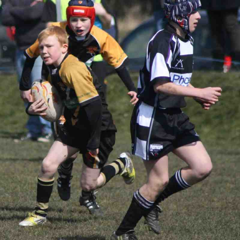 Drighlington Under 12 V Cas Panthers