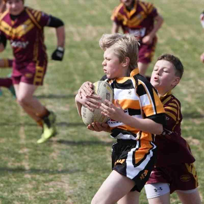 Drewsbury Moor v Drighlington Under 12's