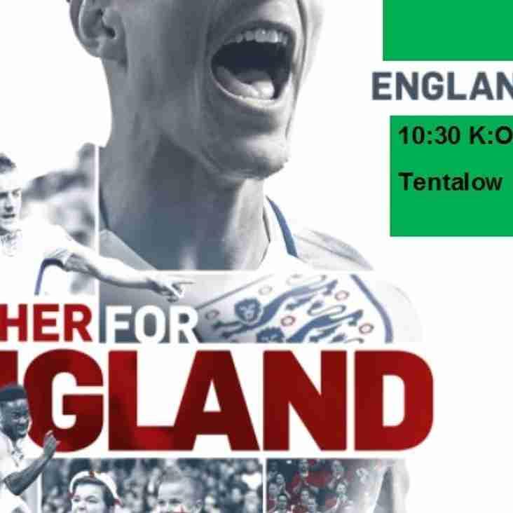 England Fans v Lithuania Fans 1030 k.o at CB Hounslow