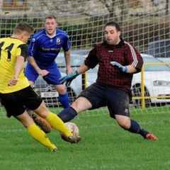 Wells fight hard for a share of the points at Cheddar