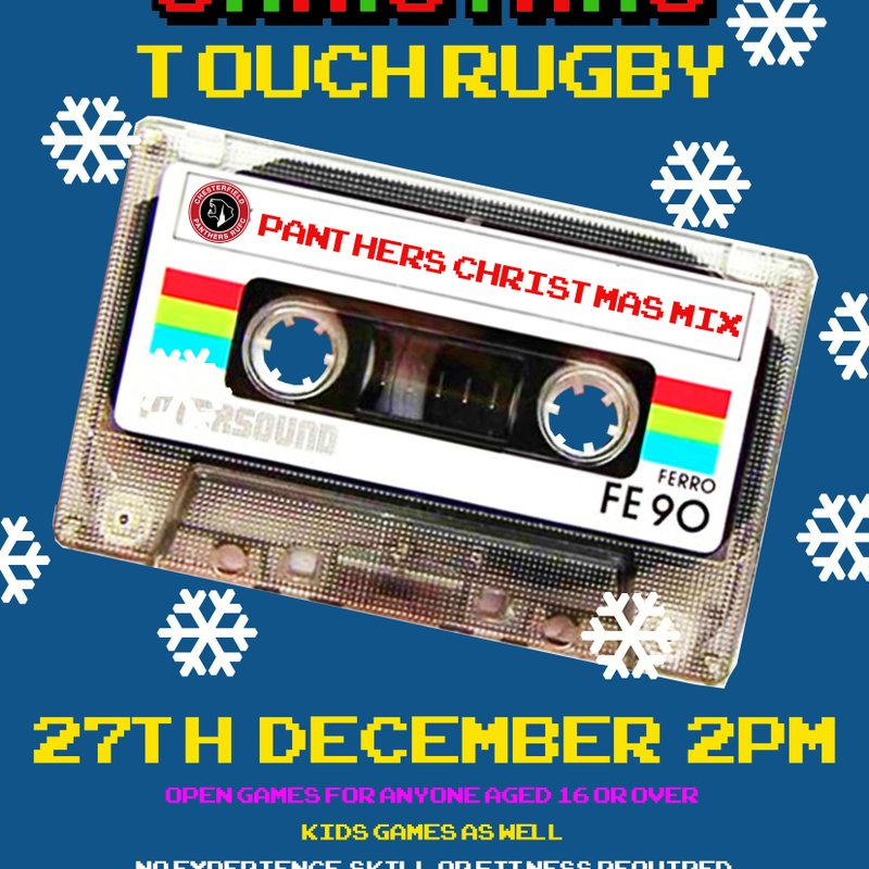 Christmas Touch Rugby - Not long now!
