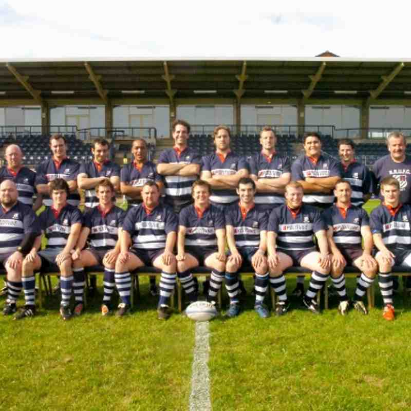 BRUFC 1stXV - courtesy of The Banbury Guardian