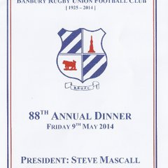 BRUFC's 88th Annual Dinner - Friday 9th May 2014