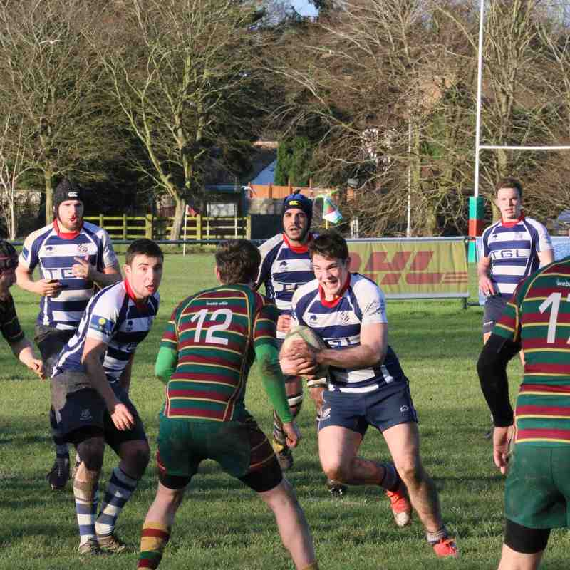 Old Laurentians v Banbury Lions (2nd half) - Sat 30th Jan '16