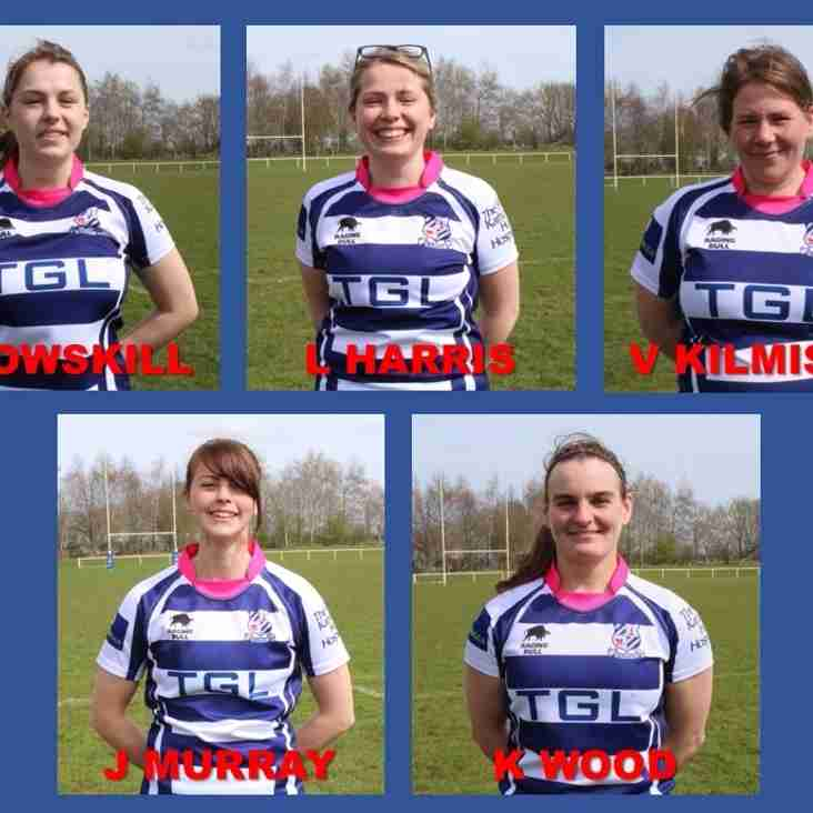 Five Belles in the County Squad