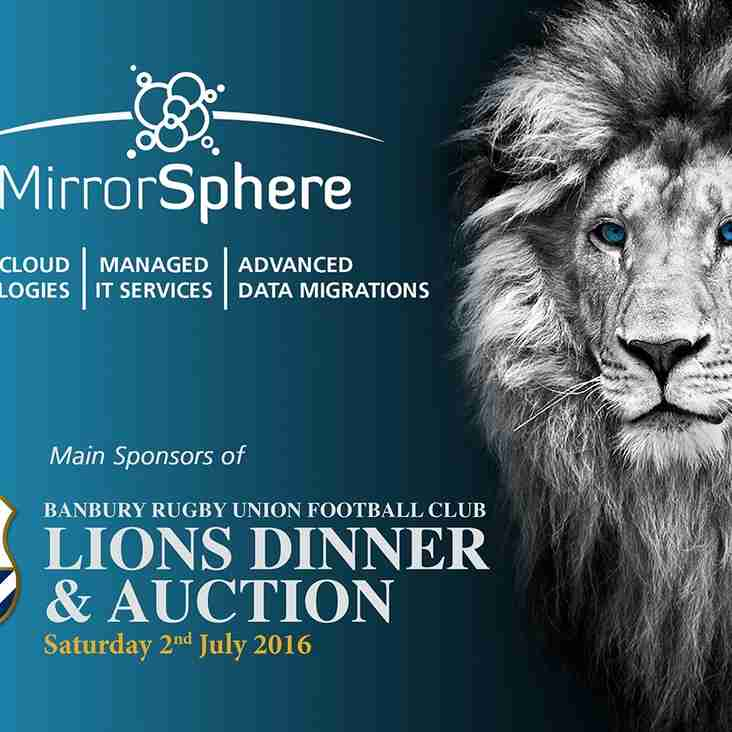 Excitement builds as MirrorSphere sponsors Lions Dinner