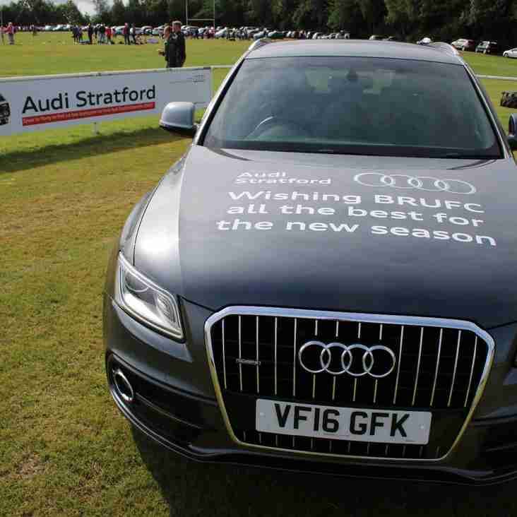 Listers Audi Stratford Enhance Support For Club