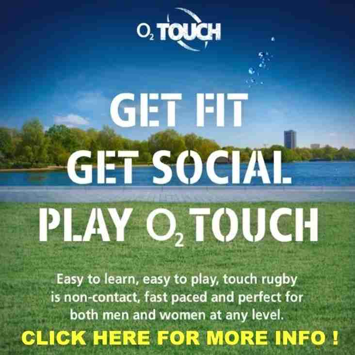 Get Fit, Get Social, Play O2 Touch for FREE!