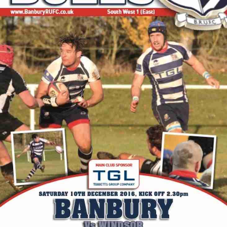 This Weekend's Senior Banbury Squads