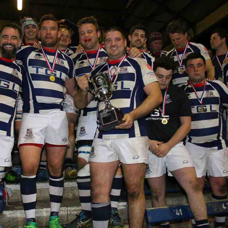 Oxon Cup Final - Celebrations - 13th Apr 17