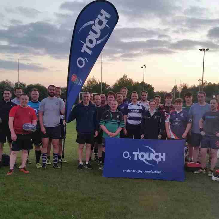 Touch Rugby Referees Wanted !