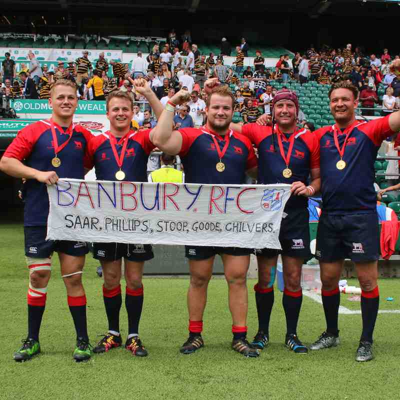 Oxfordshire Victorious at Twickenham - Sun 28th May '17