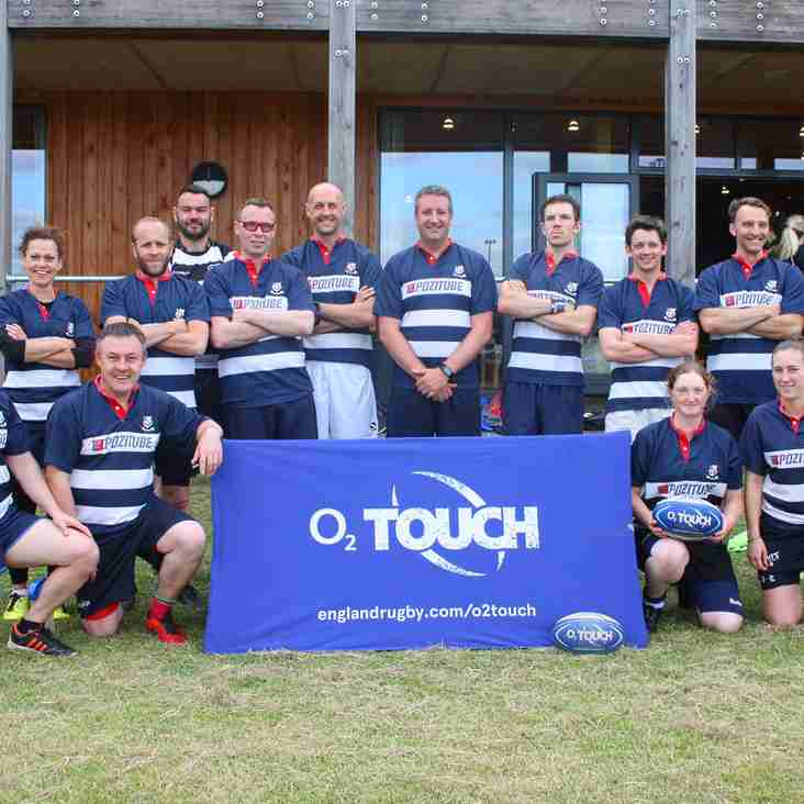 Home Win For Club's Summer Touch Rugby!