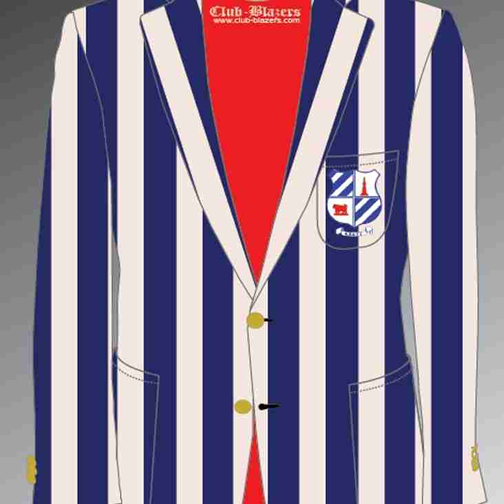Club Blazers for Christmas – Order NOW!