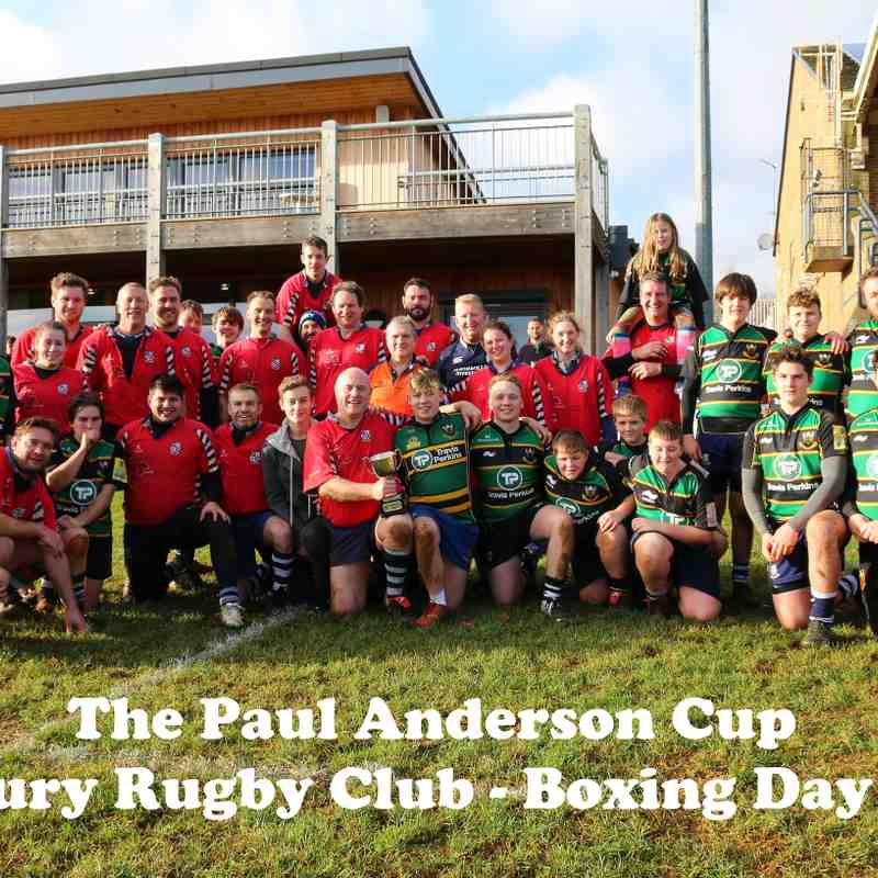 Paul Anderson Cup - Boxing Day 2017