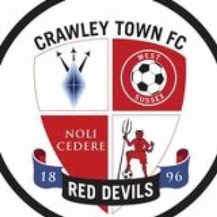 Oakwood V Crawley Town