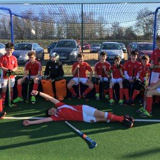 U14 Boys win