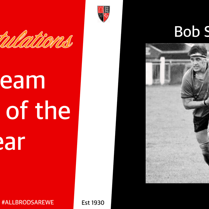 1st Team Player of the Season - Bob Sykes