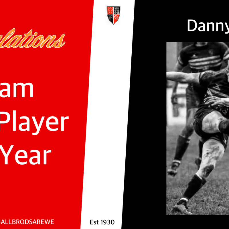 1st Team Players Player of the Year - Danny Cole