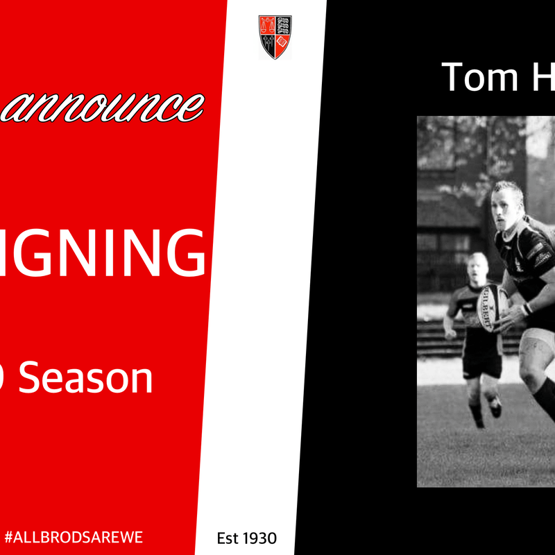 New Signing - Tom Hanson