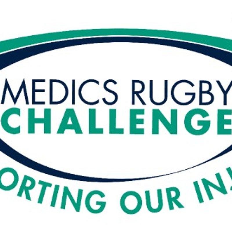 Medics rugby challenge