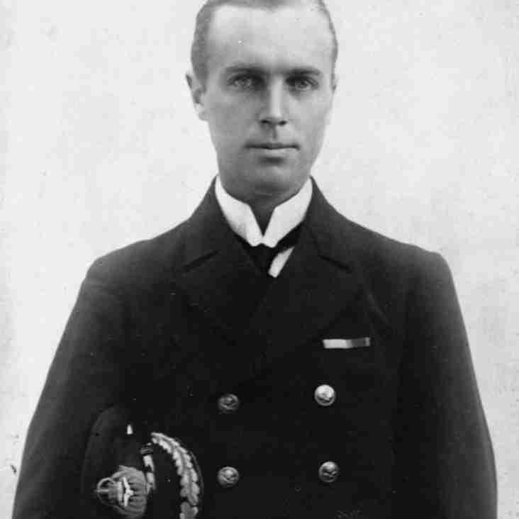 Commodore RB Davies, VC, CB,DSO,AFC club president 1936~1937