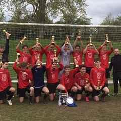Swifts U-18's lift Royston Crow League Cup