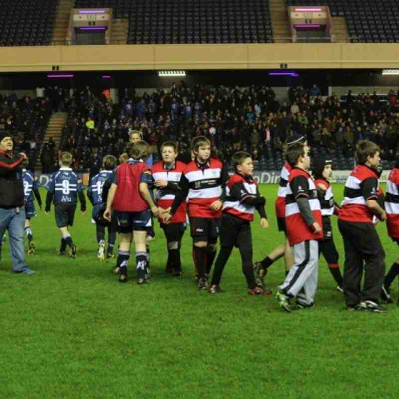 Minis at Murrayfield