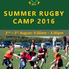 Summer Rugby Camp 2016