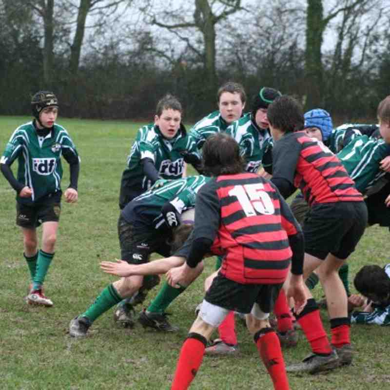 U14 Haywards Heath v Heathfield - 13th Feb