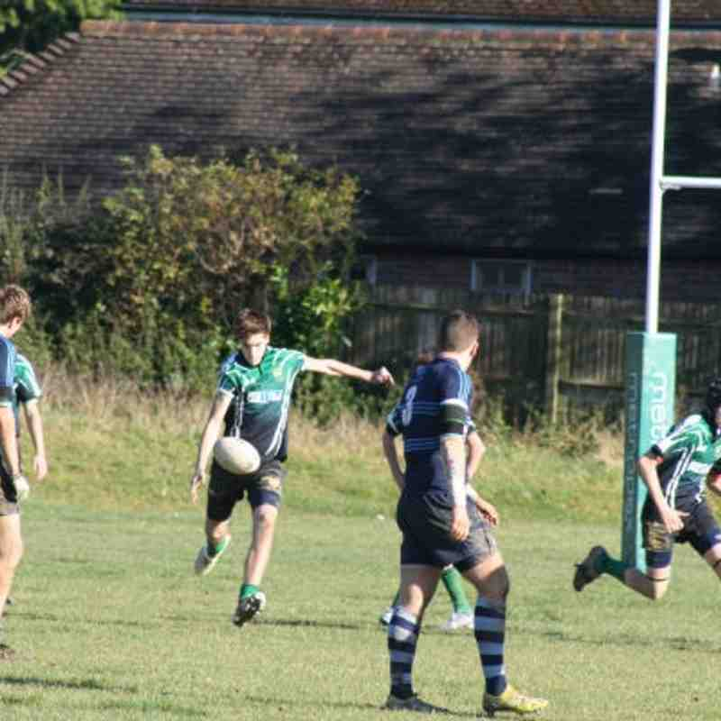 U16 Heathfield v Chichester - 11th November 2012