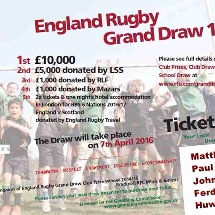 RFU Grand Draw is back!