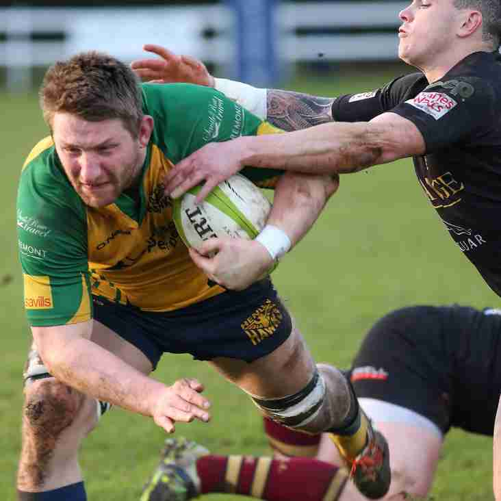 RELEGATION BATTLE HOTS UP WITH THE HAWKS VISITING WHARFEDALE